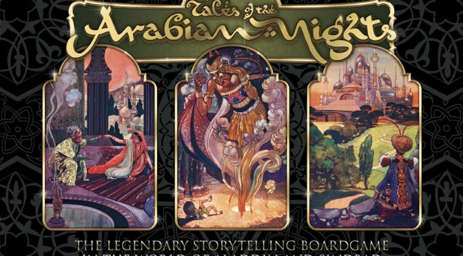 Tales of the Arabian Night, Crowfounding
