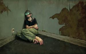 Ragazza-nellangolo-con-occhiali-in-realtà-virtuale
