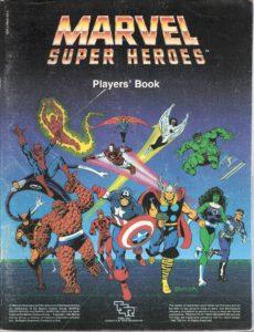 Marvel Super Heroes : il manuale del giocatore