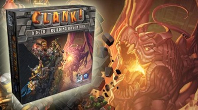 Clank! A deck building game!