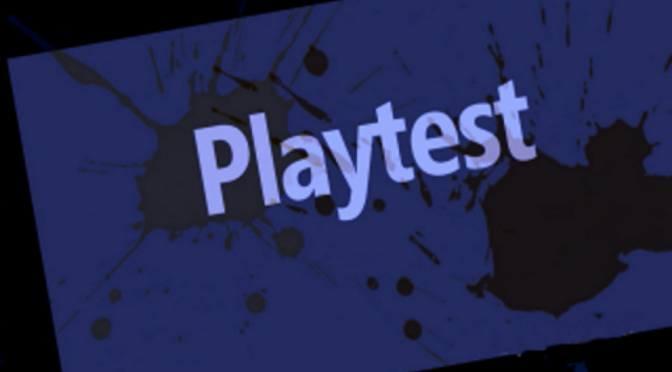 Serate Playtest… si riparte
