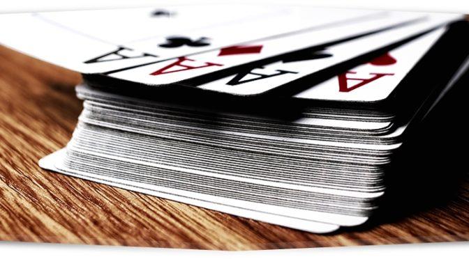 """Giocando con le carte (e non """"a"""")"""