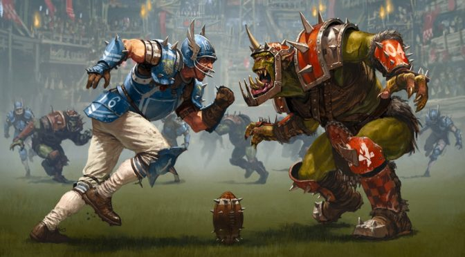 blood bowl leage 2020